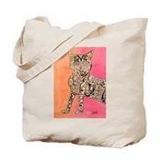 Marcia Marcia Marcia Inspiration Cat Tote Bag