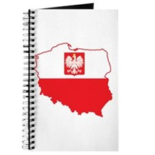 Poland Map In Polish Colors Journal