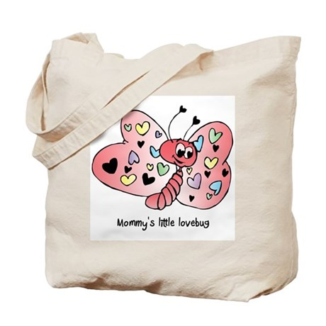 Mommy's lovebug - butterfly Tote Bag