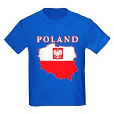 Poland Map With Eagle T