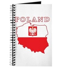 Poland Map With Eagle Journal