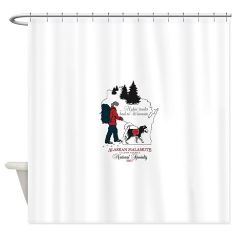 2007 AMCA National Logo Shower Curtain