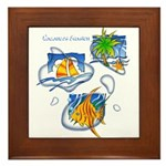 Tropic Framed Tile