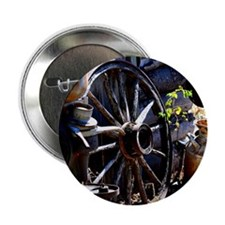 """Rustic Times 2.25"""" Button"""