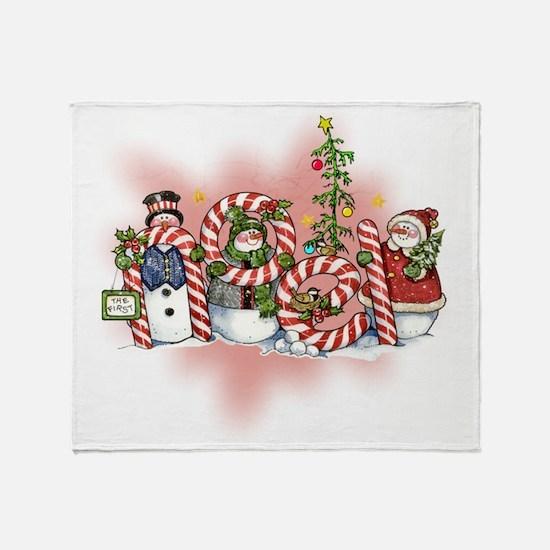 Noel Throw Blanket