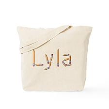 Lyla Pencils Tote Bag