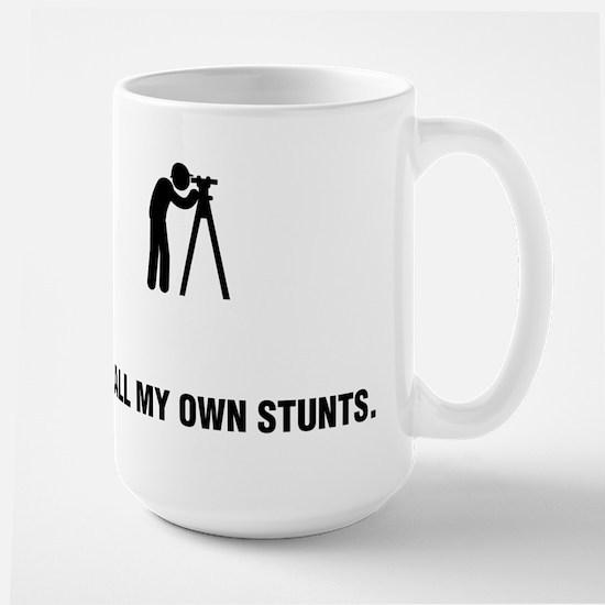 Land Surveying Large Mug
