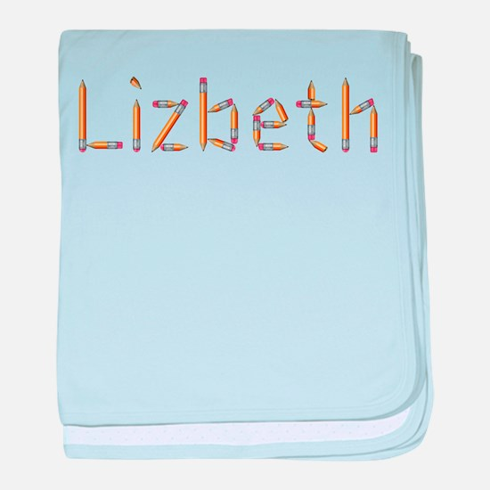 Lizbeth Pencils baby blanket