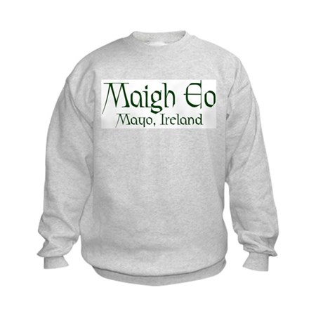 County Mayo (Gaelic) Kids Sweatshirt