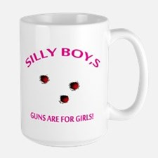 HOT SHOT GIRL Large Mug