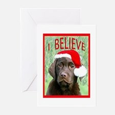 Labrador_Christmas Greeting Cards
