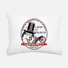 2009 AMCA National Logo Rectangular Canvas Pillow