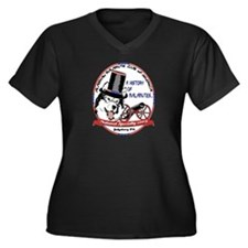 2009 AMCA National Logo Women's Plus Size V-Neck D