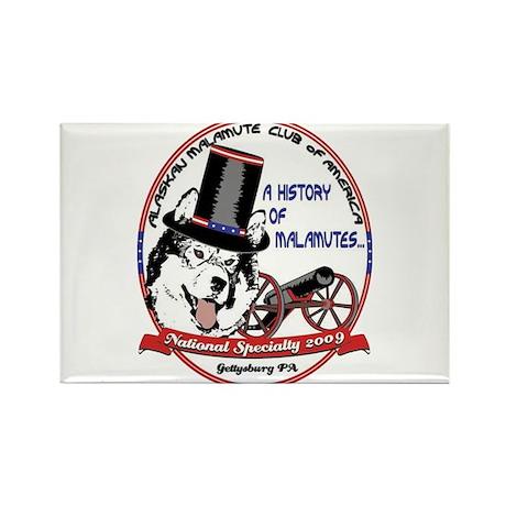 2009 AMCA National Logo Rectangle Magnet (100 pack