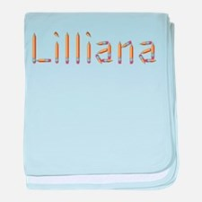 Lilliana Pencils baby blanket