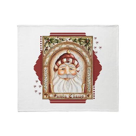 Santa Claus 1680x1380.png Throw Blanket
