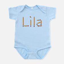 Lila Pencils Infant Bodysuit