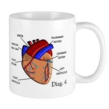The heart Diagram BEST Shirts.PNG Mug
