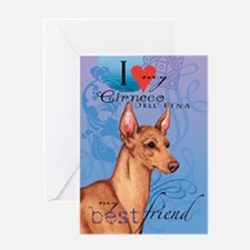 Cirneco dell' Etna Greeting Card