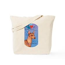 Cirneco dell' Etna Tote Bag