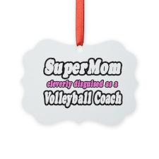 Cute Volleyball mom Ornament