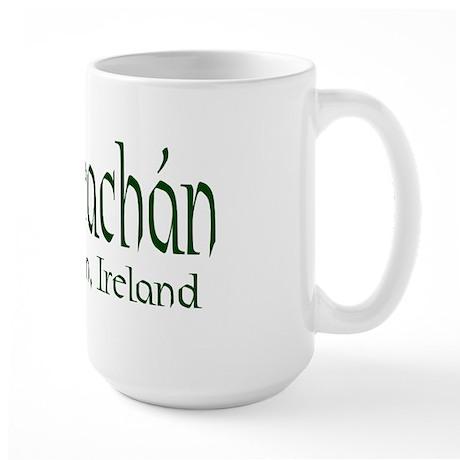 County Monaghan (Gaelic) Large Mug