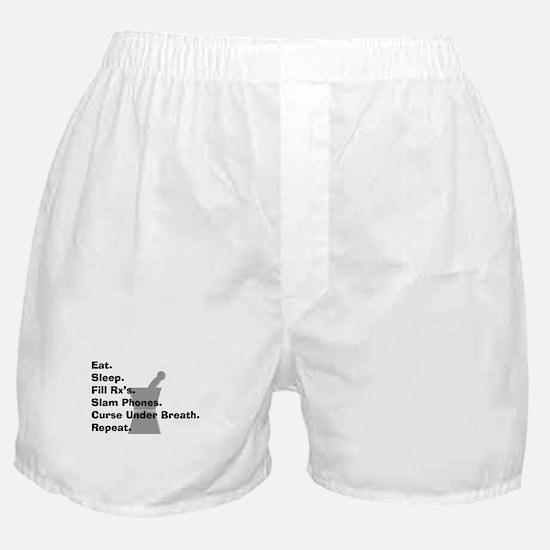 pharmacist Slam phones.PNG Boxer Shorts