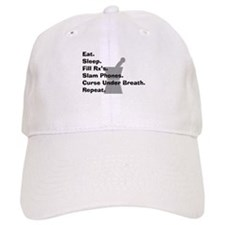 pharmacist Slam phones.PNG Baseball Cap