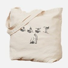 5 Stages of Web Design Tote Bag