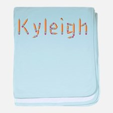 Kyleigh Pencils baby blanket