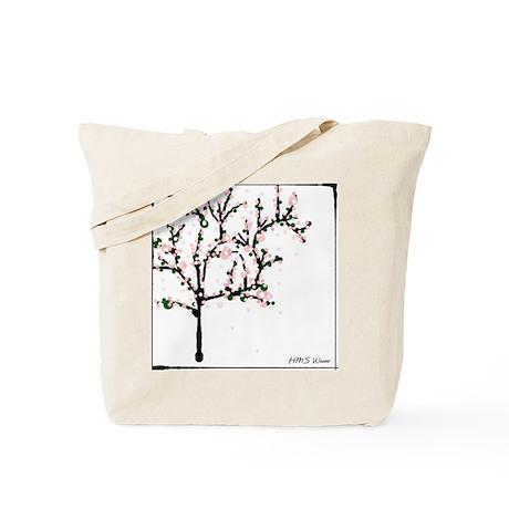 Cherry Blossom Tree Tote Bag