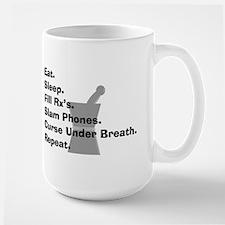 pharmacist Slam phones.PNG Ceramic Mugs
