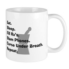 pharmacist Slam phones.PNG Small Mug