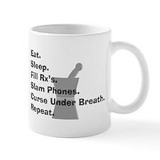 pharmacist Slam phones.PNG Small Small Mug