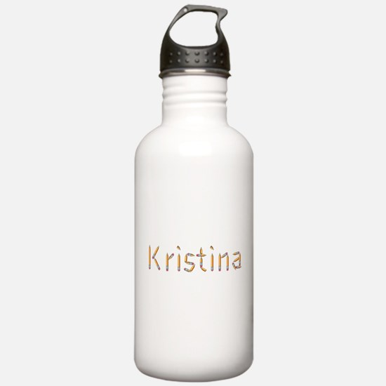 Kristina Pencils Sports Water Bottle