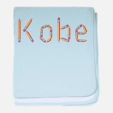 Kobe Pencils baby blanket