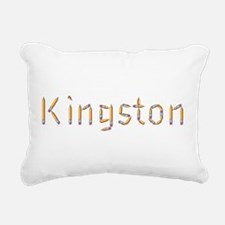 Kingston Pencils Rectangular Canvas Pillow