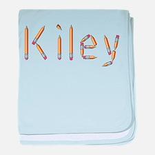 Kiley Pencils baby blanket
