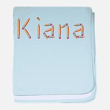 Kiana Pencils baby blanket