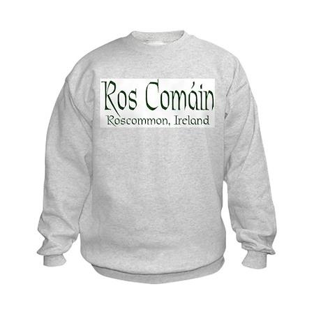 Roscommon (Gaelic) Kids Sweatshirt