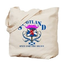 Scotland only for the brave Tote Bag