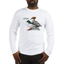 Common Mergansers Long Sleeve T-Shirt