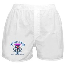 Scotland only for the brave Boxer Shorts