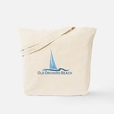 Old Orchard Beach ME - Sailing Design Tote Bag