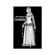 Shakespeare's Cordelia Rectangle Magnet