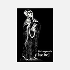 Shakespeare's Isabel Rectangle Magnet