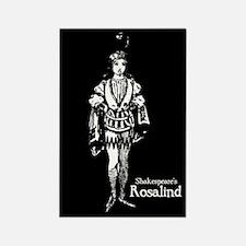 Shakespeare's Rosalind Rectangle Magnet