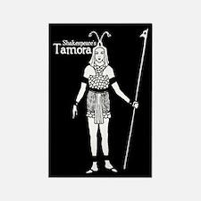 Shakespeare's Tamora Rectangle Magnet