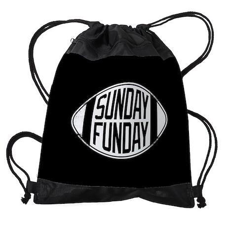 Sunday Funday Drawstring Bag