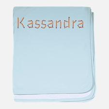 Kassandra Pencils baby blanket
